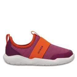 2-Crocs-Swiftwater-Easy-On-Shoe-Kids-Roze-Oranje