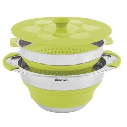 3-Outwell-Collaps-Pot-With-Colander-&-Lid